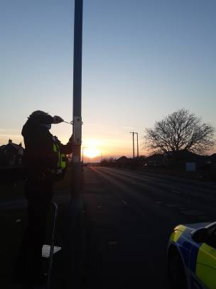 Main image for Police clamp down on speeding in Mapplewell