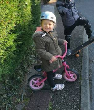 Main image for Mum pleads for return of daughter's bike