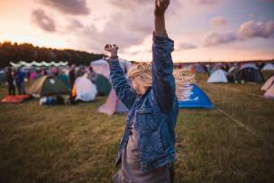 Main image for Festival-goers urged to get Covid tested
