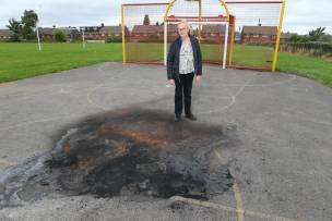 Main image for Ex-councillor hits out at vandals