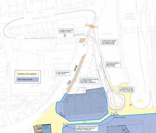 Main image for Taxi rank moving