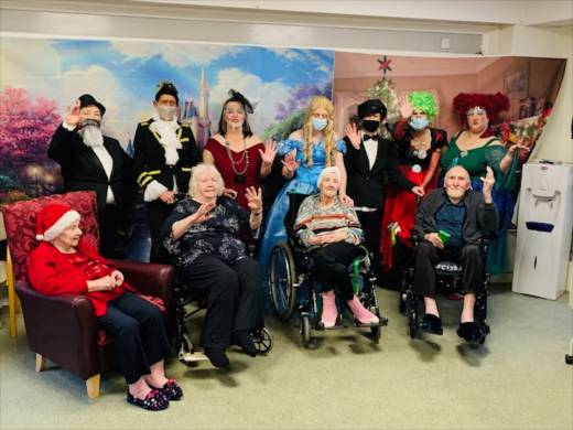 Main image for Oh yes they do... residents get to enjoy a pantomime after all