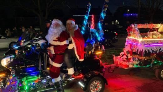 Main image for Fancy dress bikers spread festive spirit