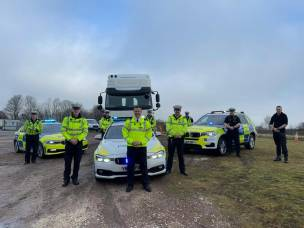 Main image for Hundreds stopped in road safety operation