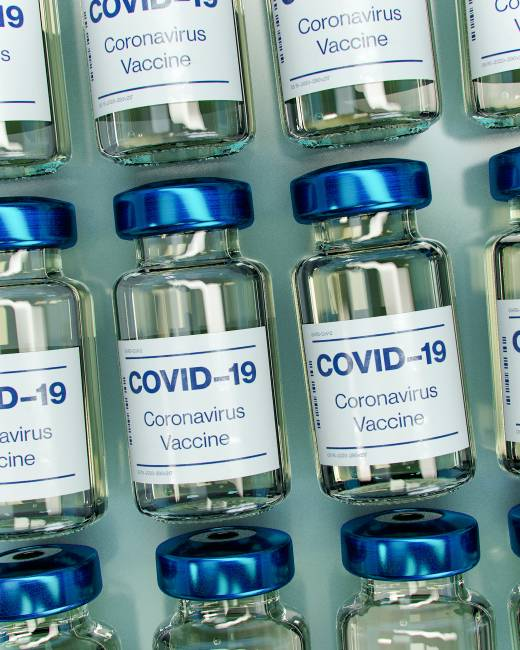 Main image for Three-quarters of population received vaccine