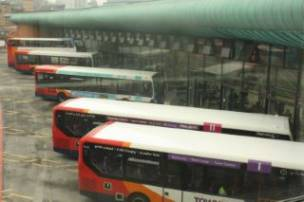Main image for Bus halted overnight following antisocial behaviour