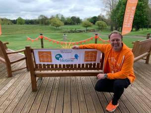 Main image for £7,000 raised in hospice golf day