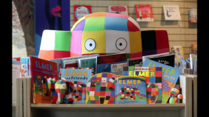 Main image for Colourful Elmer plods his way to the Cooper Gallery