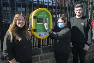 Main image for Lifesaving equipment comes to Darfield