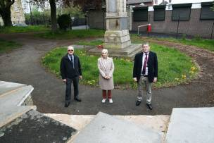 Main image for Memorial could be locked up following vandal attacks