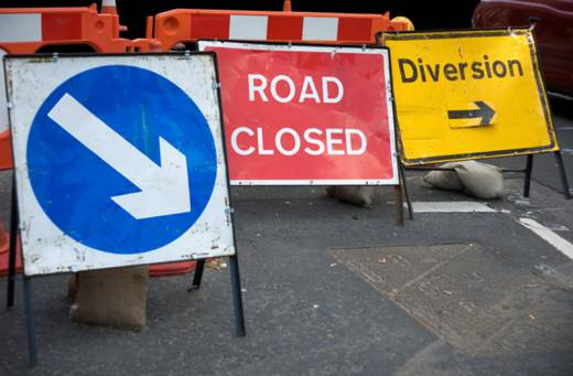 Main image for Road closure in Worsbrough Dale
