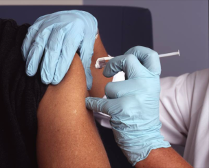 Main image for Town's vaccination programme above national average