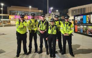 Main image for Patrols help keep town centre safe
