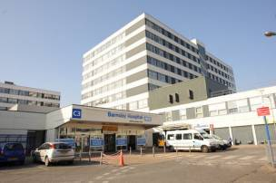 Main image for Hospital A&E faces heavy demands this winter