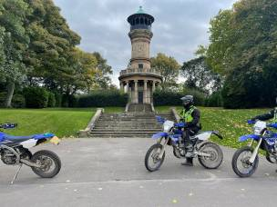 Main image for Police clamp down on off road bikers in park