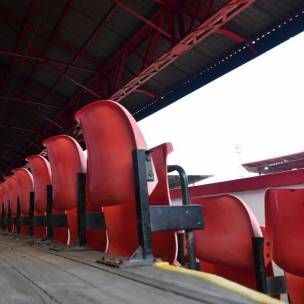 Main image for West Stand closed due to safety concerns