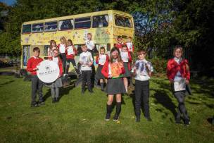 Main image for Cudworth school teams up to celebrate Halloween