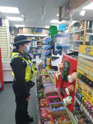 Main image for Police ask shops to stop selling items to youngsters