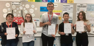 Main image for College students excel in Cambridge challenge