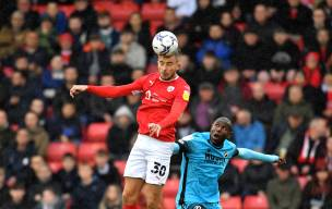 Main image for Barnsley drop into relegation zone