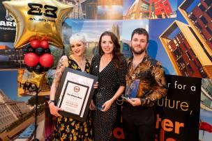 The White Bear at the 2019 awards (Credit - Barnsley Council)