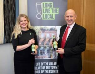 Main image for MP supports pub campaign