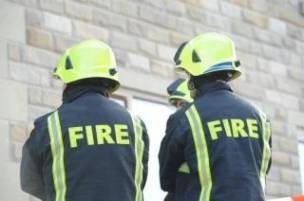 Main image for Man rescued from property fire