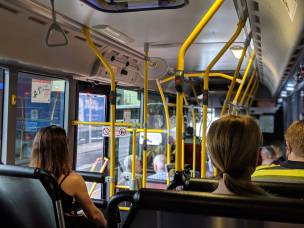 Main image for Bus services disrupted today